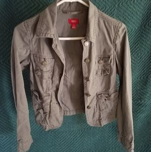 Gray Army Jacket
